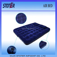double size comfortable flocked air bed/air mattress/air cushion