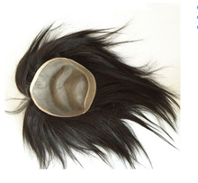 hair replacement for man cheap toupee human hair topper wig