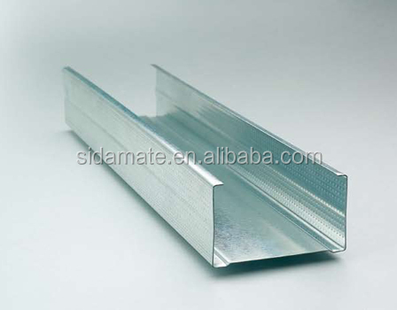 Light Steel Profile Metal Stud track CD UD for Drywall Partition suspended ceiling C Channel