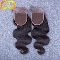 Factory Price Brazilian Body Wave lace closure lace top closure lace front piece