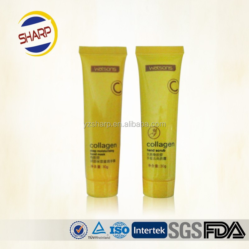 300ml plastic tubes used for cosmetic