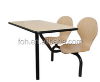 Florida Succeccful Cases Hot Selling 2 Seats Dining Table and Chair (FOH-CBC05)