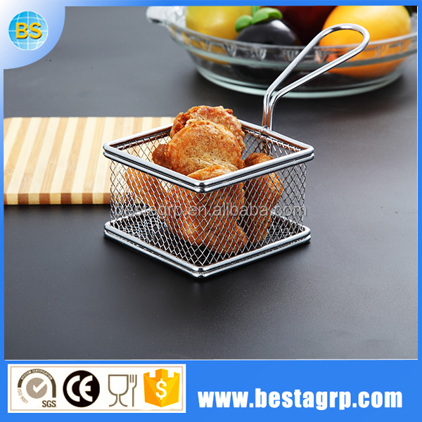 Cooking tools wholesale French moroccan small wire mesh baskets