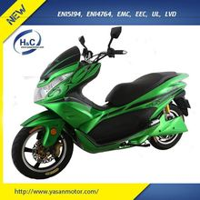 Cheap 2000W 80V electric scooter motorcycle eec approved electric moped with silicon battery