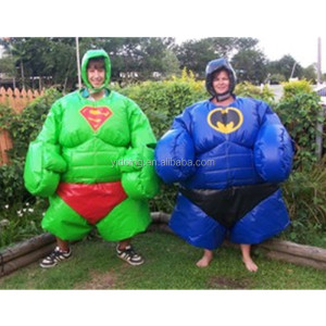 High quality inflatable sumo suit / foam padded sumo wrestling suits cheapfor kids and adults B6073