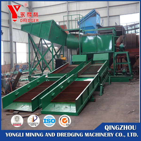 Pulsating Sluice Gold Machine Gold Sluice Mining Machine