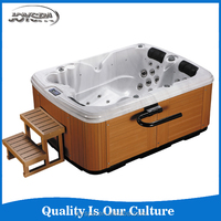 Wholesale luxury massage hot tub control panel/large hot sexy family spa tub