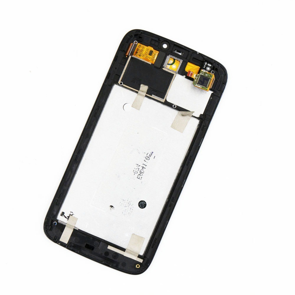 For Acer Liquid Jade S55 LCD Display Screen With Touch Screen Digitizer Panel GLass Sensor Assembly With Frame