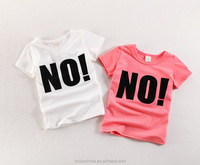 New Arrival Simple Design Girls Wear Only Shirts New Style Top for Girls