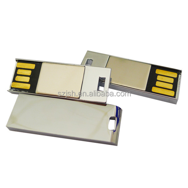 OEM Hot selling high Capacity 100% real capacity bulk mini metal usb flash drive 16 gb with high quality