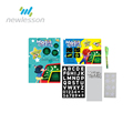 New hot fluorescent children's drawing board A3 A4 A5 educational toys