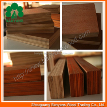 Natural wood veneered plywoods of various thickness for package/ground