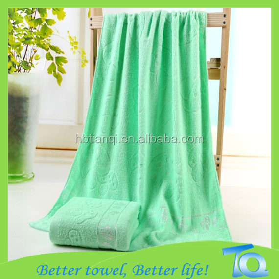 100 % cotton great quality printed custom rectangle bath towel blanket