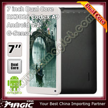 "7"" dual core good quality china cheapest tablet pc wholesale"