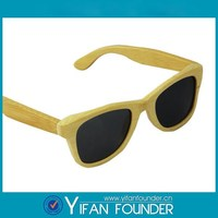 Latest fashion eyeglasses Sunny Europe sun glasses wood