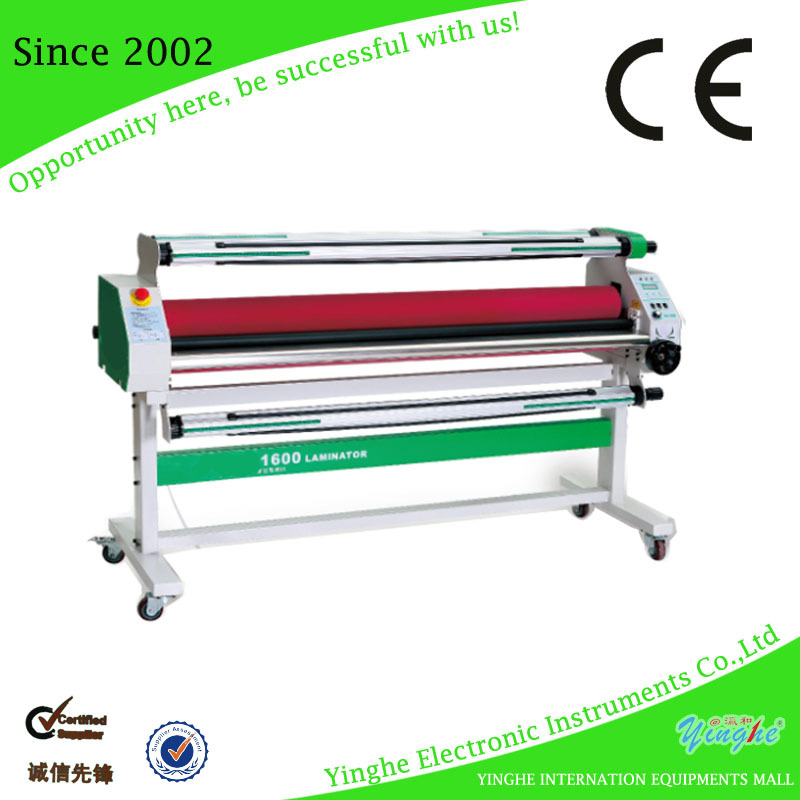 High resolution automatic industrial laminator
