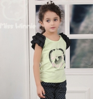 OEM/ODM girls stylish t-shirt