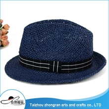 Wholesale Products China Fancy Straw Hats For Men Promotional Panama Straw Hat
