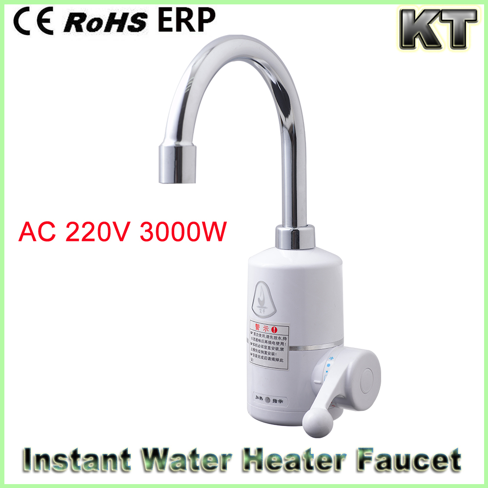 220v 110v bathroom hot cold water mixer tap instant tankless electric hot water tap electric faucet