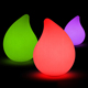 Remote control waterdrop led decorative light color change led water drop light