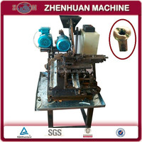 Auto small motorcycle and bicycle spoke nipple making machine