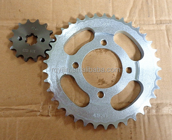 Dream Wave125 China Supplier Motorcycle Sprocket with Steel Material for Motorcycle