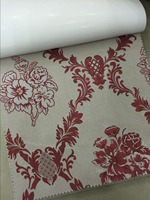 Draperies&curtain 100% polyester linen jacquard fabric
