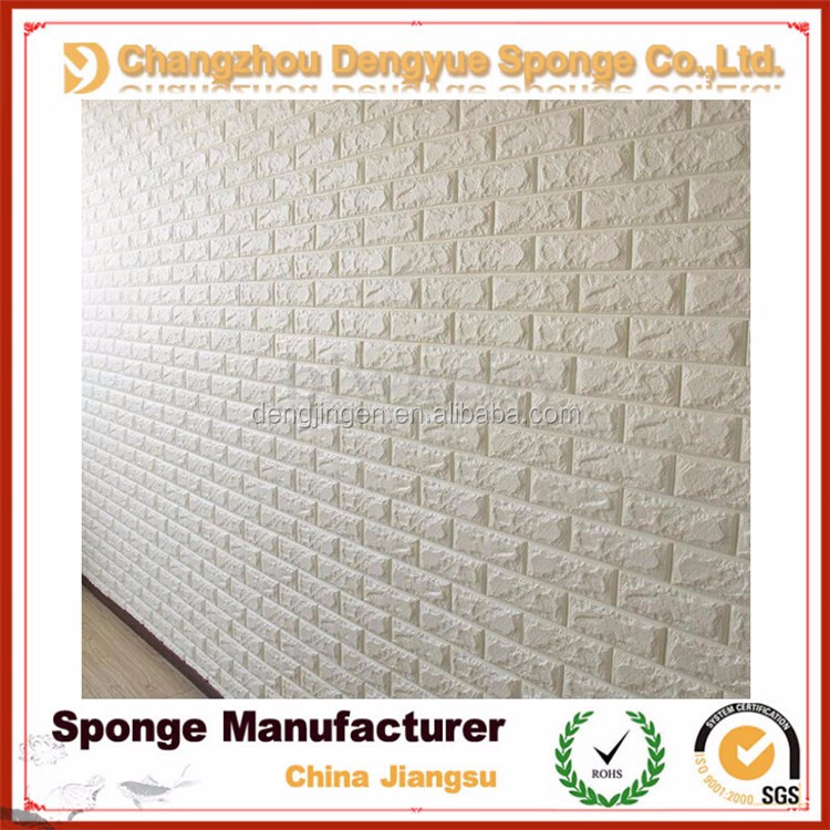 non-toxic odor-free soundproof textured wallcovering embossed 3d wall paper