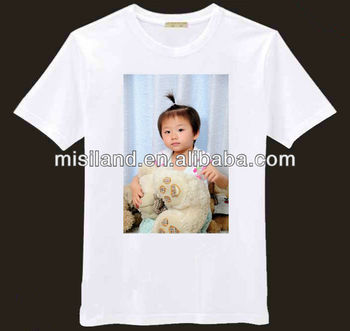 White Color Iron-on T-shirts Inkjet heat transfer paper