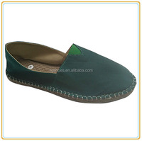 Women's comfortable navy espadrille in china