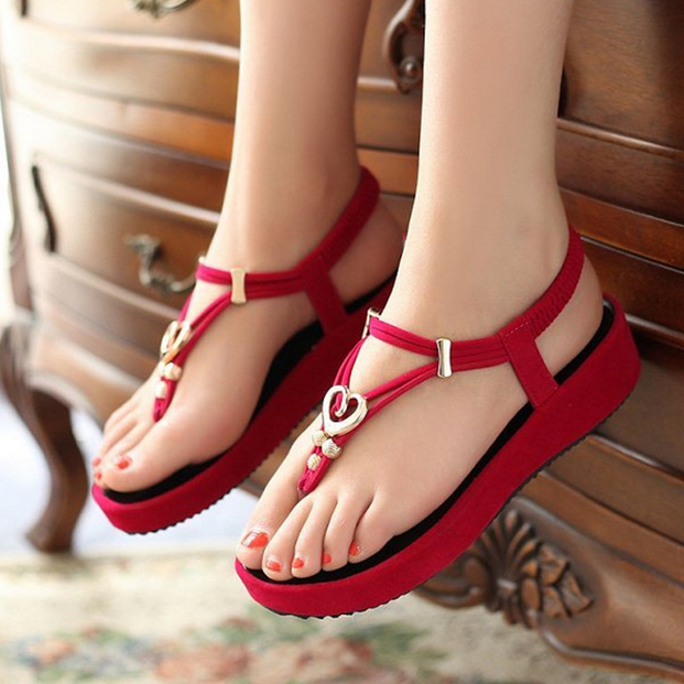 W72506G new 2016 new model women sandals flip platform ladies sandals