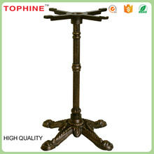 China Factory Antique Wrought Iron Coffee / Dining Table Base For Sale