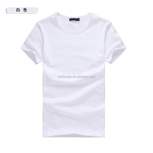 Classic 100% Cotton Plain White T-shirt Wholesale Organic Cotton T-shirt Manufacturers