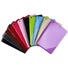 Cheap price slim golossy TPU soft tablet case for iPad mini 2 3 4 air pro