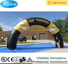 DJ-GM-30 advertising inflatable rainbow arch racing start line arch