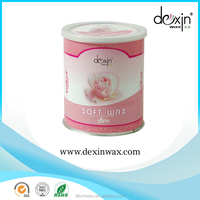 Ladies Product SPA Beauty Products 800ml Rose Hair Removal Soft Wax