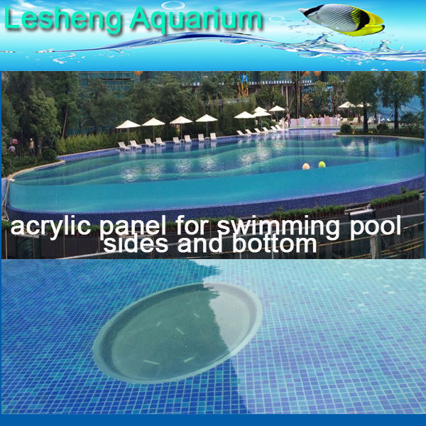 Light Acrylic Panel for Swimming Pool