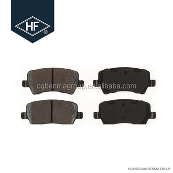 Hot selling Auto Brake pad D1307/30671574 for SAIC GM Buick Regal I 2002