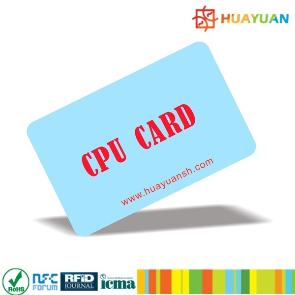 Public transportation payment system FM1208 Contactless CPU chip card