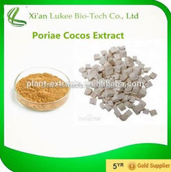 Alibaba China GMP KOSHER HACCP FDA QS Certified factory Supply Poria Cocos Extract Powder,free sample Poria Cocos Extract