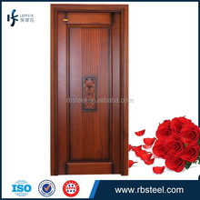 China supplier modern internal wooden double door designs with competitive price