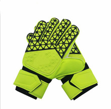 latex non-slip football goal goalkeeper gloves
