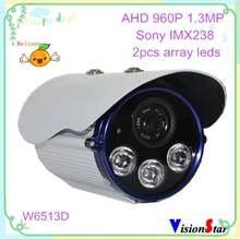 CCTV monitor cmos 960p 1.3mp ahd sony video analog hd camera excellent image vision