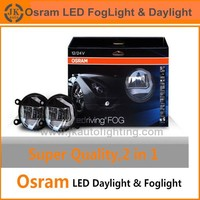 Best Price Factory Direct Osram LED Fog Light for Nissan Sylphy Super Bright LED DRL Fog Light for Nissan Sylphy LED Daylight