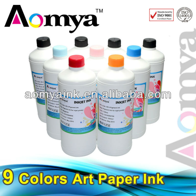 Printers bulk waterproof art paper inkjet printer ink Compatible for Epson