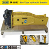 Top type hydraulic hammer breaker with chisel 85 mm
