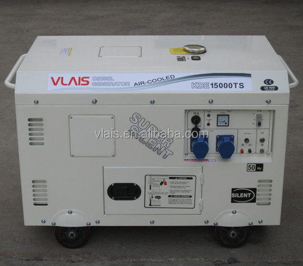 Vlais high quality and low fuel consumptiondiesel 15kva generator for big power