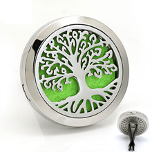 Wholesale Custom 316L Stainless Steel Air Freshener Essential Oil Car Vent Perfume Aromatherapy Diffuser Locket Car Vent Clip