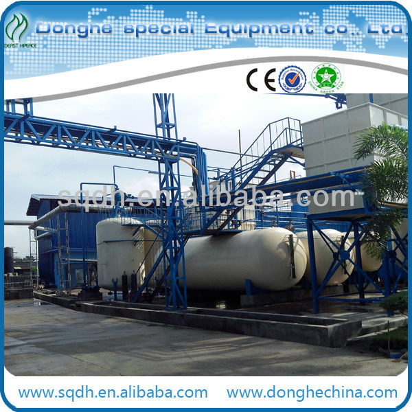hot sale plastic recycling machine crude refinery machinery waste plastic oil refinery machine with CE&ISO