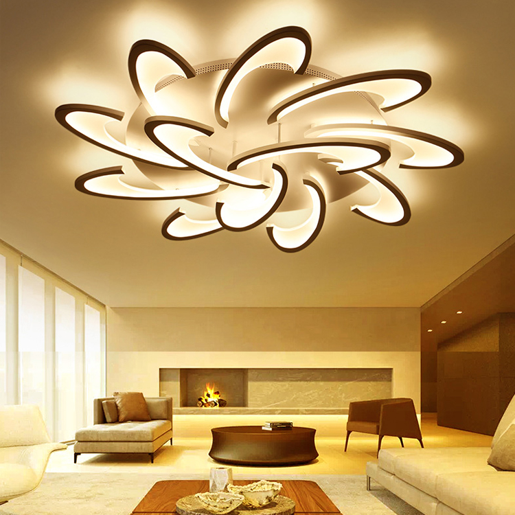 China Suppliers Wholesale Products Decorative Beautiful flower shape Light Chandeliers lamps